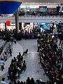 People gather at the atrium of SM City Clark for a mall event (4).jpg