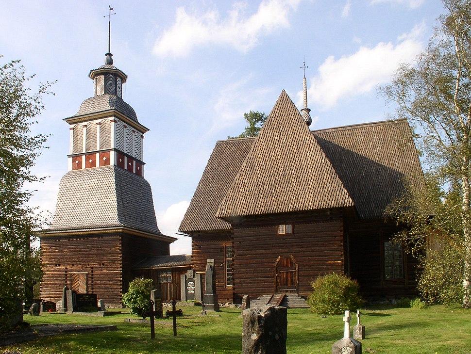 Petäjävesi Old Church from south
