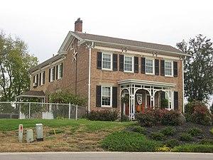 Trenton, Ohio - Peter Schrock Farmhouse on Edgewood Drive
