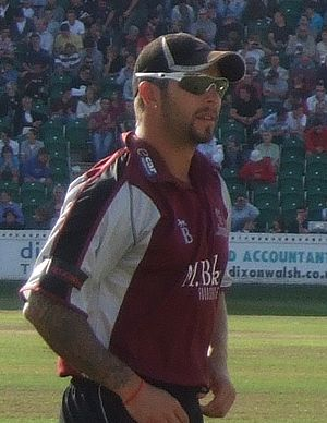 Peter Trego - Peter Trego in the field during a match against Durham at Taunton in 2009.