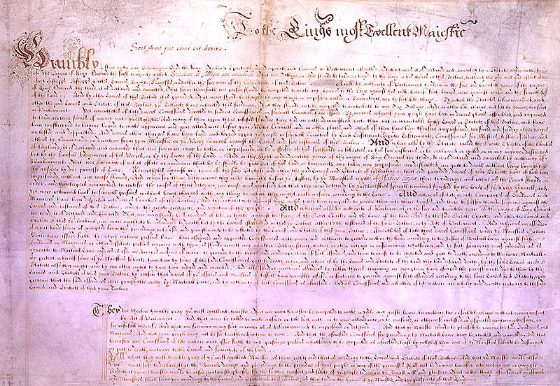 English Bill Of Rights 1689 Petition of right.jpg