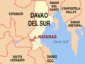 Ph locator davao del sur matanao.png