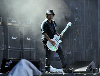 Phil Campbell (musician) - Campbell at Wacken Open Air 2013 with Framus guitar