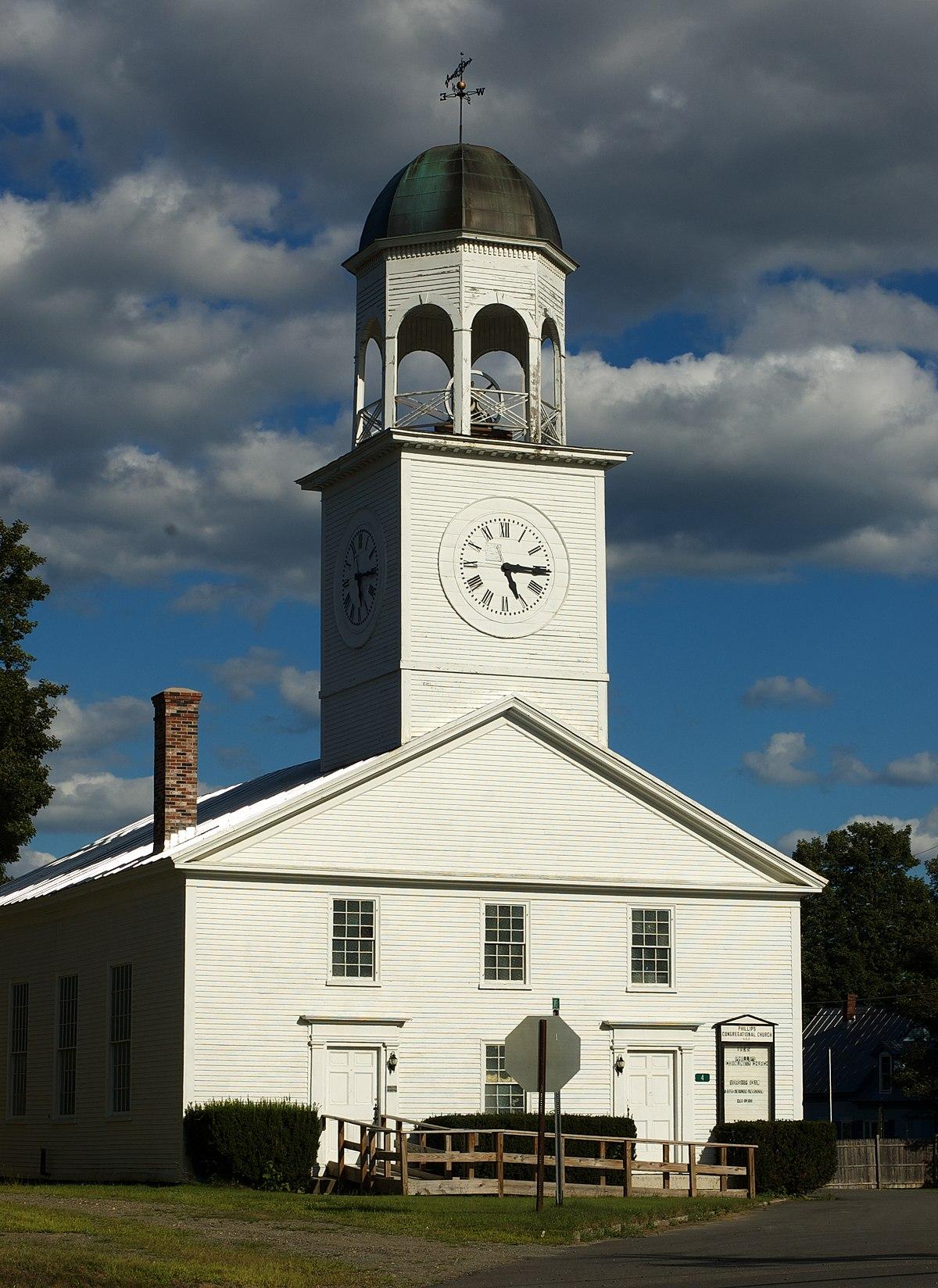 Union Church Phillips Maine Wikipedia