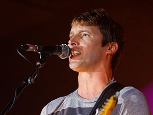 Festival de Cornouaille - James Blunt in 2011
