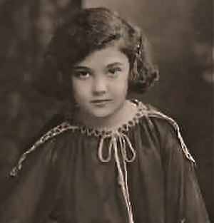 Miriam Battista - Publicity photo of Miriam Battista at age 8