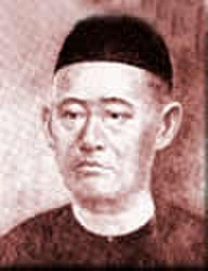 Gan Eng Seng School - Portrait of the school founder and philanthropist, Gan Eng Seng (1844 - 1899)