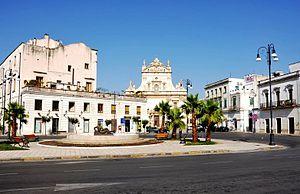 Galatina - Image: Piazza Galatina