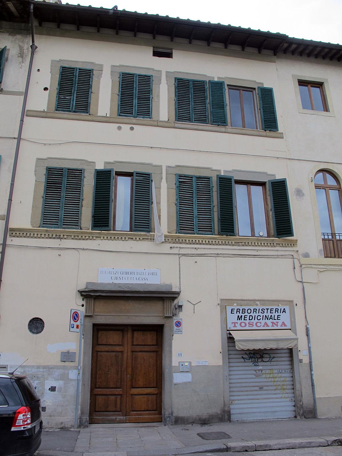 Casa di lorenzo ghiberti wikipedia - Quanto si da di caparra per acquisto casa ...