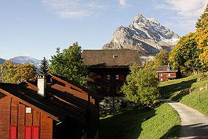 Braunwald, Glarus - Image: Picswiss GL 10 18