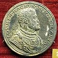 Pier paolo galeotti, medaglia di cosimo I de' medici e stemma medici con toson d'oro (argento).JPG