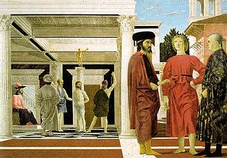 Flagellation of Christ (Piero della Francesca) - Image: Piero The Flagellation