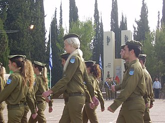 Yom Hazikaron - IDF soldiers participate in an official Yom Hazikaron ceremony to the fallen soldiers and the victims of terror attacks.