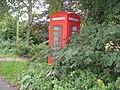 Pilhough - Telephone Box on Pilhough Road - geograph.org.uk - 959809.jpg