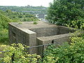 Pillbox Type 23, St Martin's Battery, Westen Heights, Dover (rear).JPG