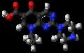 Pipemidic acid molecule ball.png