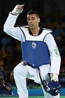 Pita Taufatofua Tongan taekwondo practitioner