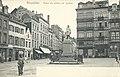 Place de la Justice vers 1910 et la rue de Ruysbroeck sur la gauche.jpg
