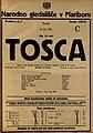 Plakat za predstavo Tosca v Narodnem gledališču v Mariboru 9. junija 1925.jpg
