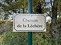 Plaque Chemin Léchère - Saint-Cyr-sur-Menthon (FR01) - 2020-10-31 - 2.jpg