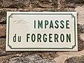 Plaque Impasse Forgeron - Solutré-Pouilly (FR71) - 2021-03-02 - 1.jpg