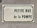 Plaque Petite Rue Pompe - Solutré-Pouilly (FR71) - 2021-03-02 - 1.jpg