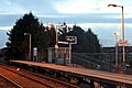 Platform furniture, Heswall railway station (geograph 3800515).jpg