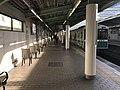 Platform of Bentencho Station (Chuo Line).jpg
