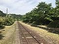 Platform of Kareigawa Station 7.jpg