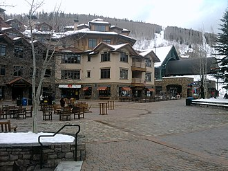 Mountain Village, Colorado - Image: Plaza Mountain Village