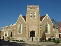 Pleasant Hill United Church of Christ from southwest.jpg