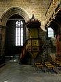 Ploubezre (22) Chapelle de Kerfons Chaire.JPG