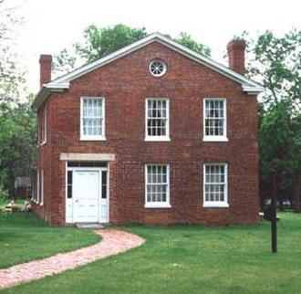 Plum Grove Historic House - Plum Grove, Iowa City, 1996
