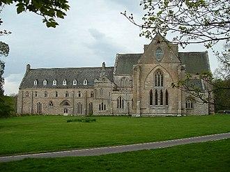 Pluscarden Abbey - Image: Pluscarden Abbey