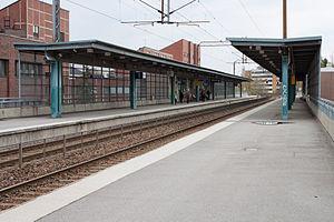 Pohjois-Haaga railway station