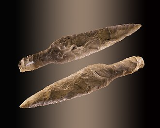 Dagger - A Neolithic dagger from the Muséum de Toulouse.