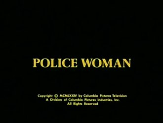 Police Woman (TV series) - Opening title