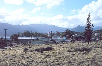 Pohnpei - District center of Pohnpei Circa 1960