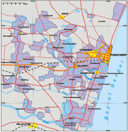 Pondicherry map