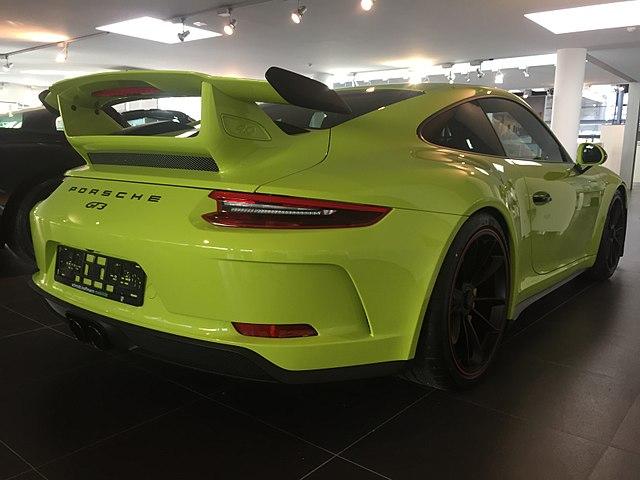 Porsche 911 GT3 (991.2)