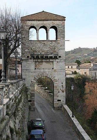 Ascoli Piceno - Porta Tufilla.