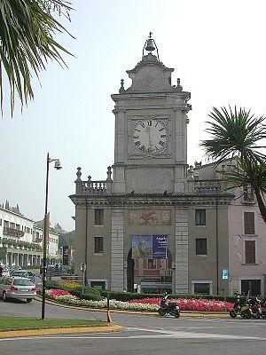 Salò - Image: Porta dell'Orologio 1