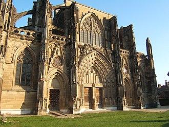 Saint-Antoine-l'Abbaye - Abbey church