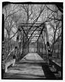 Portal view, looking east - Sulphur Fork Creek Bridge, Spanning Sulfur Fork Creek on Spring Road, Port Royal, Montgomery County, TN HAER TN-27-4.tif