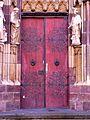 Porte d'accès de la Collégiale Saint-Thiébaut de Thann.jpg