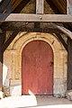 Porte de l'église (Saint-Jean-de-Livet, Calvados, France).jpg