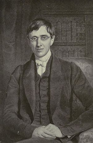 John Henry Newman - Portrait miniature of John Henry Newman, by William Charles Ross