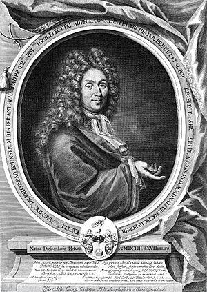Johann Conrad Brunner - Portrait of Johann Conrad Brunner