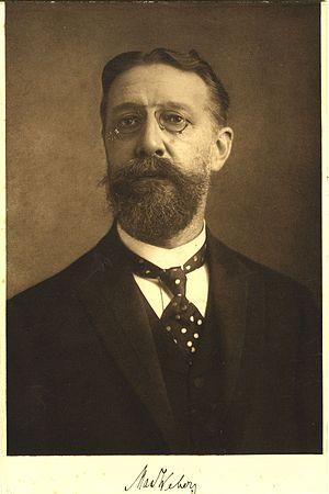 Max Carl Wilhelm Weber - Image: Portrait of Max Wilhelm Carl Weber