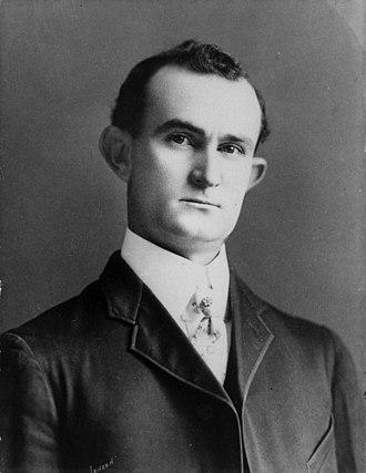 Samuel Ealy Johnson Jr. - A portrait of Samuel Ealy Johnson Jr. taken in 1907